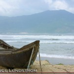 China Beach Vietnam Boat