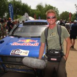 Production Sound Mixer-Location Sound Engineer at the 2010 Dakar Rally